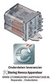 139M.E00003.45 - Vermogensrelais 230VAC 16A CUPPONE PIZZAPLETTER P45