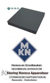 980490088 - Kookplaat maat 300x300mm 2500W 400V  voor MKN