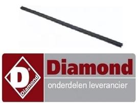 891164738 - Deurrubber bovenkant oven gasfornuis DIAMOND G77/4BF7-N