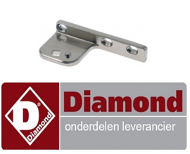0256033010129 - ONDERSTE SCHARNIER LINKS DIAMIOND HE1412/P