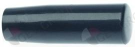698472 - Konusgreep draad M6 ø 24mm - L 76mm zwart binnendraad