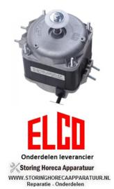 832601530 - Ventilatormotor ELCO 34W 230V 50/60Hz lager glijlager L1 55,5mm L2 91,5mm L3 119mm ELCO