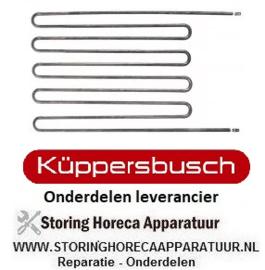 126416936 - Verwarmingselement 2000W - 230V - Bain-Marie, Kuppersbusch