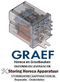 203380312 - Vermogensrelais 230VAC 10A  voor snijmachine GRAEF