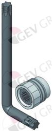 542280 - Straalregelaar voor water dispenser T & S