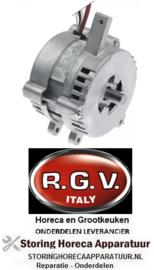 675501530 - Motor 230V fasen 1 50Hz 1380U/min schacht ø 15mm schachtlengte 25mm 195-220 editie vanaf 04/2016