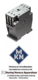 015380492 - Relais AC1 35A 230VAC hoofdcontact 3NO voor MKN