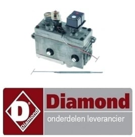 135.671.018.00 - Gastermostaat friteuse  DIAMOND G60/F8-3T, G60/F16-6T