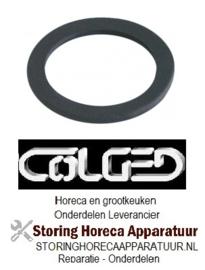 295516123 - Vlakpakking rubber OD ø 65mm ID ø 50mm materiaaldikte 3mm vpe 1stuk