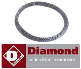 083359729 - Pakking glasvezel ID ø 57mm AD ø 67mm materiaaldikte 5mm ø 67mm lamphouder DIAMOND LD8/30X