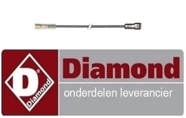 254RTCU900384 - PIEZO ontstekingskabel kabellengte bakplaat DIAMOND E77/PL4T-N