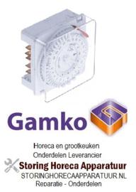 151360150 - Schakelklok MINI T type 3611 ontdooi interval 1-48x per 24u GRAM