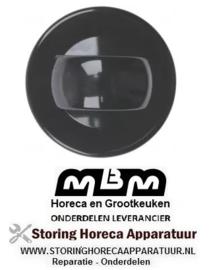 341112663 - Knop zonder symbool ø 70mm friteuse MBM EF77