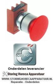 182346325 - Paddestoelknop rood CUPPONE PIZZAFORM P/30