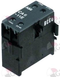 381027 - Hulpcontact contact 1NO/1NC AC1 6 AC15 3A aansluiting schroefaansluiting