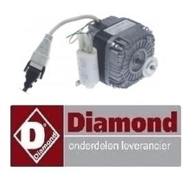 820BTNM21TB0148 - Ventilatormotor snelkoeler DIAMOND AR5-TN/PM