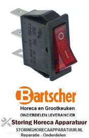 671301010 - Wipschakelaar inbouw 250V 16A BARTSCHER