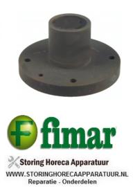 252SL0074 - Lagerblok voor deegmenger inbouwpositie onder ø 145mm ID ø 42mm binnen ø 1 47mm H 79mm FIMAR 25-38 S-C-F