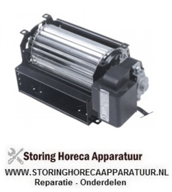 563601637 - Dwarsstroomventilator COPREL FFR rol ø 60mm wals L 120mm gelamineerde kerndikte 15mm