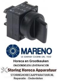457346629 - Standenschakelaar schakelvolgorde 1-0-2 voor apparatuur MARENO