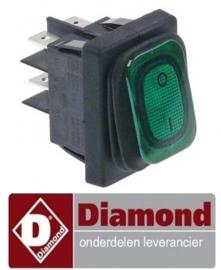 435E02.001 - Schakelaar aan en uit voor slagroommachine DIAMOND MCV/2
