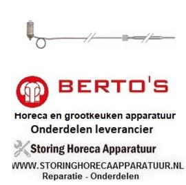 383102103 - Voeler 60-200°C gas friteuse  BERTO'S GL10+10M