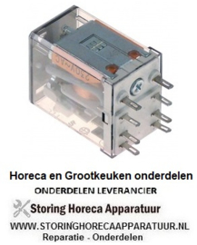 993380129 - Vermogensrelais 24VAC 12A 2CO steekaansluiting 250V aansluiting 2mm