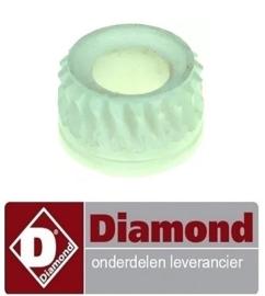 348A90IG78002 - Tandwiel ø 47,5mm, H 35mm inbouwpositie achter ID ø 25mm voor deeguitroller DIAMOND P42/X