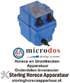 856361749 - Naglansmiddel doseerapparaat MICRODOS toerentalregeling 1l/h 24 VAC glansspoelmiddel slang ø 4x6mm