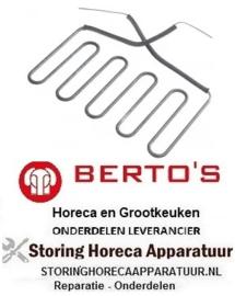 514416014  - Verwarmingselement 1500 Watt - 230 Volt voor Grill BERTOS