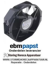 115.6017.23 - Axiaalventilator 230VAC 50/60Hz 13/14W EBM PAPST