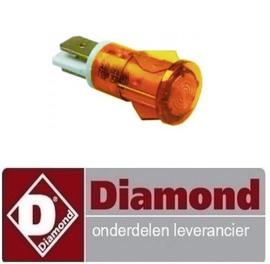 580A08003 - Signaallamp oranje DIAMOND