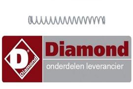 971A05.002 - Drukveer voor slagroom machine DIAMOND MCV/2
