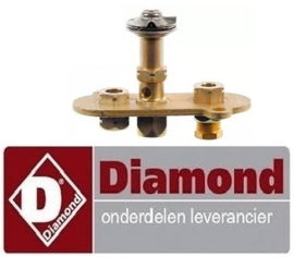 VE801100056 - Waakvlambrander 3-vlammig voor gas friteuse DIAMOND