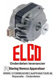 145.6018.90 - Ventilatormotor ELCO 10W 230V 50/60Hz lager glijlager