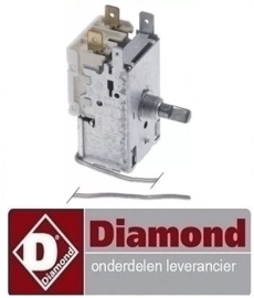 9801022600059 - Thermostaat capillaire 500 mm DIAMOND DRINK-38/T
