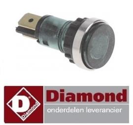 3606.63.043.00 - Signaallamp groen pastakoker DIAMOND E65/CP4T(230V/3)