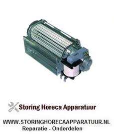 225601034 - Dwarsstroomventilator ebm-papst QLK45-1200-2513 rol ø 45mm wals L 120mm