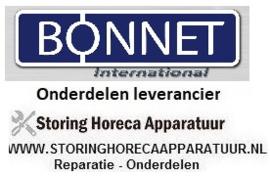 BONNET - HORECA EN GROOTKEUKEN APPARATUUR REPARATIE ONDERDELEN
