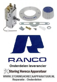 113390292 - Thermostaat RANCO type K50P1118 capillaire 1250mm instelbereik -3 tot +2,5°C