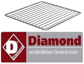214.A60/GF-GN2/3 - Rooster GN 2/3 voor elektrische convectie oven DIAMOND