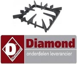 112210265 - Branderrooster B 350mm L 328mm voor gasfornuis DIAMOND