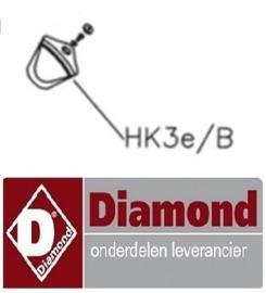 HK3E/B - KNOP VOOR KOUDWATER DIAMOND CW8002-8003