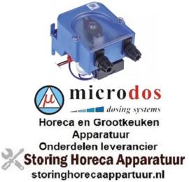 543361793 - Doseerapparaat MICRODOS tijdsturing 0,5l/h 230 VAC glansspoelmiddel slang ø 4x6mm slang silicone