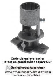 10340104096 - Branderhouder met sproeierdrager aansluiting M20x1,5