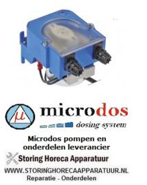 567361000 - Doseerapparaat MICRODOS tijdsturing 3l/h 230 VAC wasmiddel slang ø 4x6mm slang Santoprene