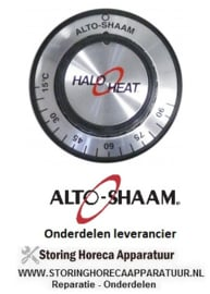 121111491 - Knop thermostaat t.max. 90°C 15-90°C ø 48mm as ø 6x4,6mm afvlakking onder ALTO-SHAAM