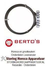 104418132 - Verwarmingselement 7350W 230V voor Bertos oven