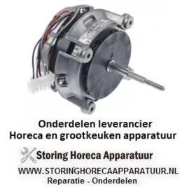 881601753 - Ventilatormotor 230V fasen 3 50Hz 0,33kW snelheid 1 L1 85mm L2 32mm D1 ø 8,2mm
