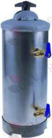 245530201  - Waterontharder manueel met 2 ventielen containercapaciteit 12l harshoeveelheid 8,4l